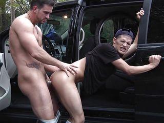 Жесткое гей порно с большими членами