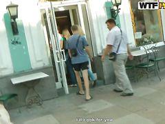 порно на улице в россии